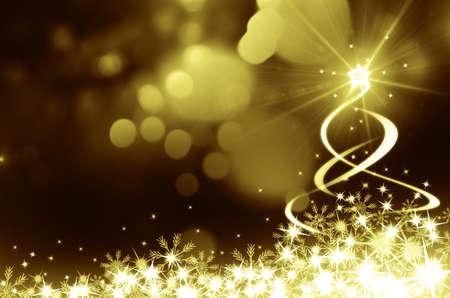 shinny: Shinny Christmas Tree, abstract background