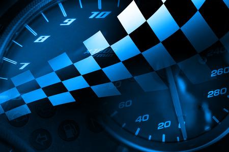 Racing Background 写真素材