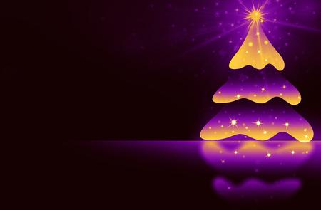 christmas night: Christmas Background