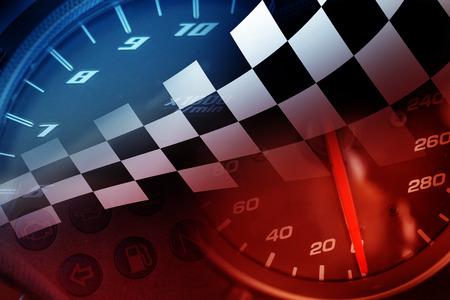 Racing Background Foto de archivo