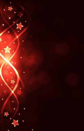 christmas night: red christmas background