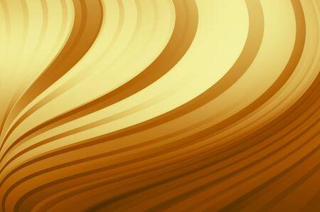 futurist: abstract warm curves Stock Photo