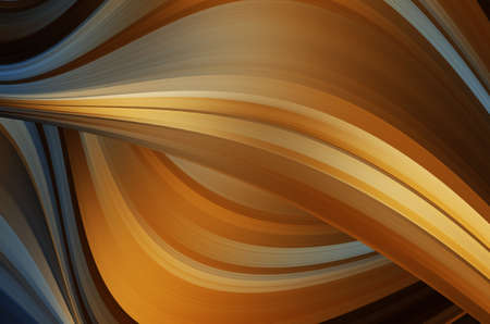 futurist: abstract warm curves Stock Photo