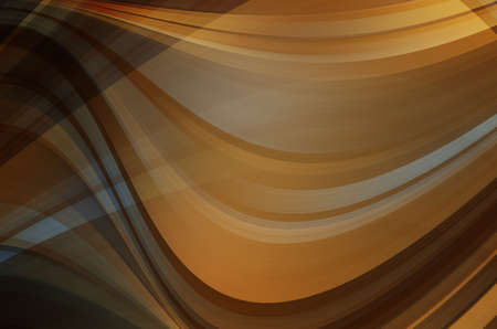 sharp curve: abstract warm curves Stock Photo