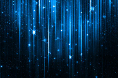 ultramarine blue: abstract glowing background