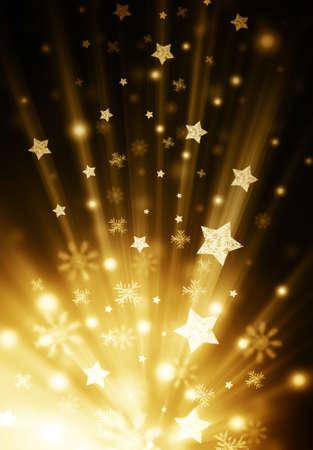 shiny background: star shiny background Stock Photo