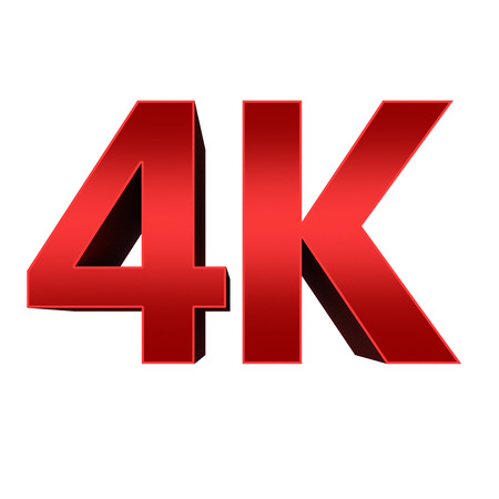 ultra: 4K ultra high definition television technology red logo