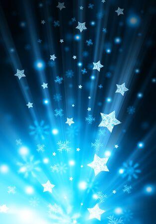 majesty: star shiny background Stock Photo