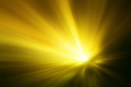 sunbeam background: Illustration of a burning sun, or star and beautiful rays of light