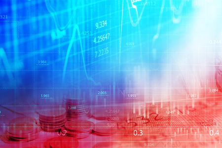finance concept: Finance data concept