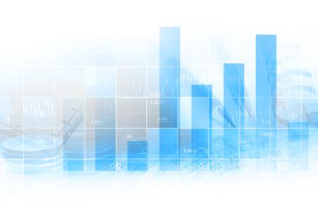 analyze: Finance data concept