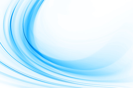 curve: Blue abstract background