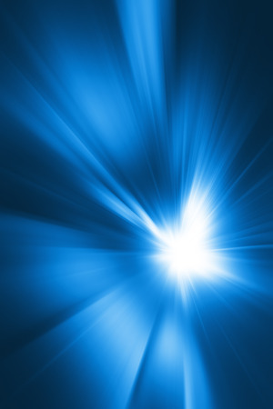 abstract zoom: Blue Abstract Zoom background