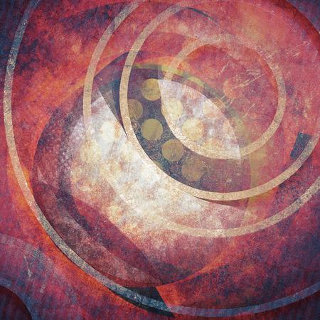 cercles Grunge fond
