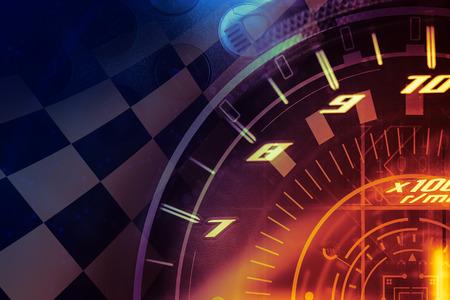 winners: Racing Background Stock Photo