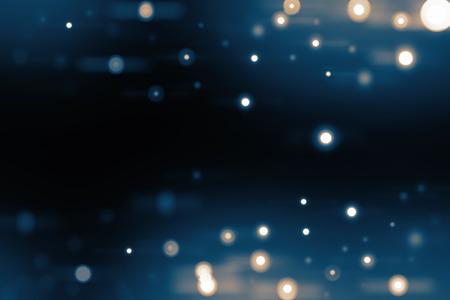 gleam: blur spot lights background