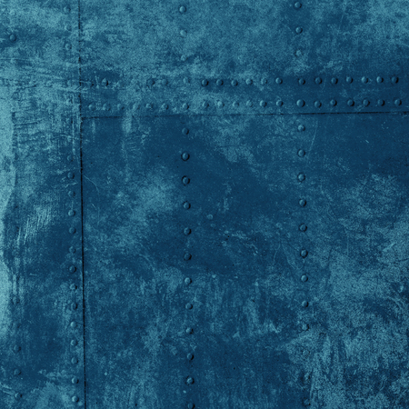 blue wall: Grunge blue wall background or texture Stock Photo