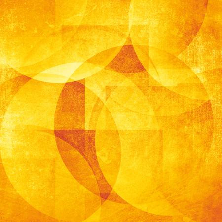 back to the future: Grunge orange background