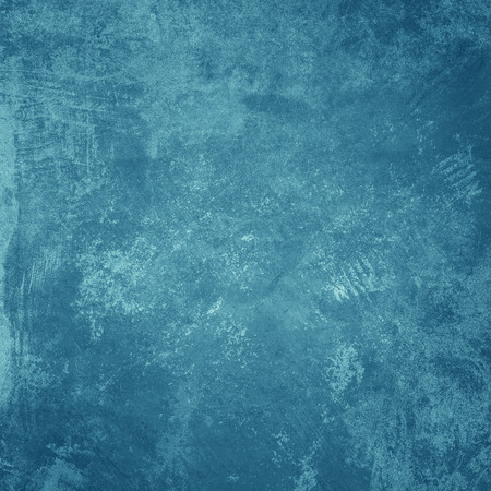 blue background texture: Grunge blue wall background or texture Stock Photo