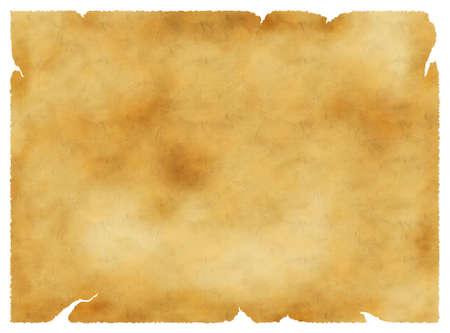 Old parchment vintage background, paper texture, golden colors  Stock Photo