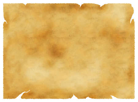 ragged: Old parchment vintage background, paper texture, golden colors  Stock Photo