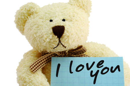 sweetheart: Front view of teddy bear toy with