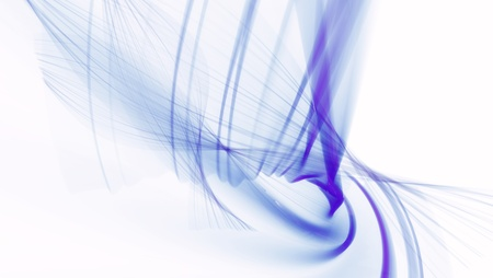 blue abstract wave Stock Photo - 15407804