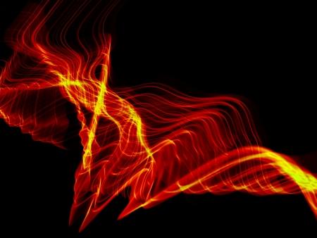 olas de fuego