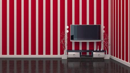 TV room interior