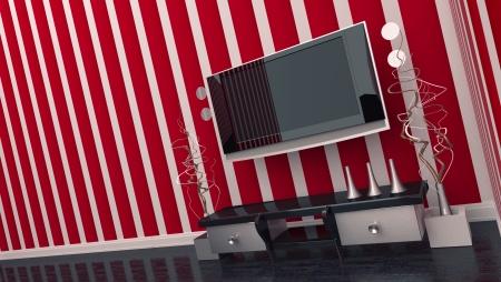 TV room interior Stock Photo - 17021994