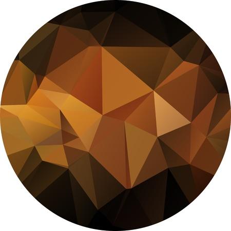 geometric background with gradients lines, different colors Ilustração