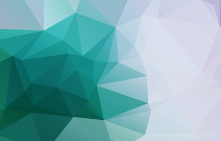 Light Soft White Green Geometric background with gradients lines Illustration