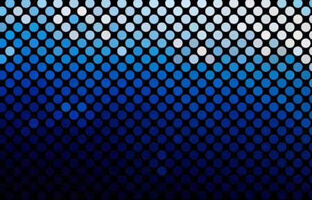multicolor abstract light disco background square pixel mosaic Vector