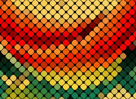 multicolor abstract light disco background square pixel mosaic