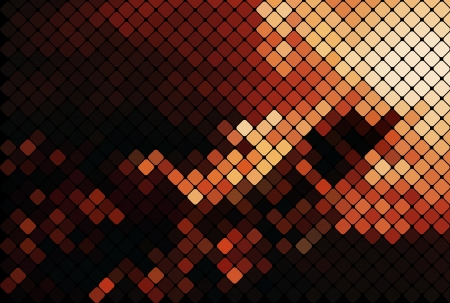discotheque: multicolor abstract light disco background square pixel mosaic
