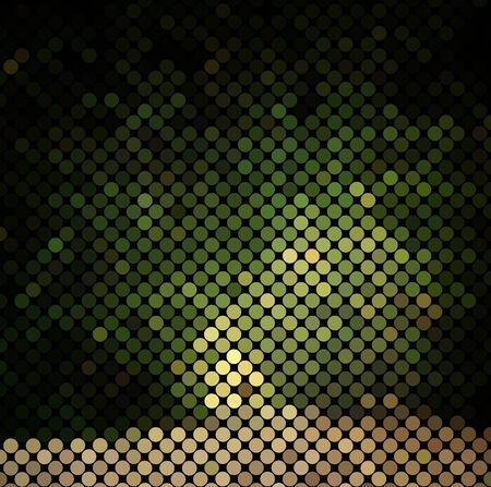 microbial: multicolor abstract light disco background square pixel mosaic