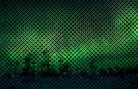 Multicolor luzes abstratas disco fundo de pixel Praça mosaico