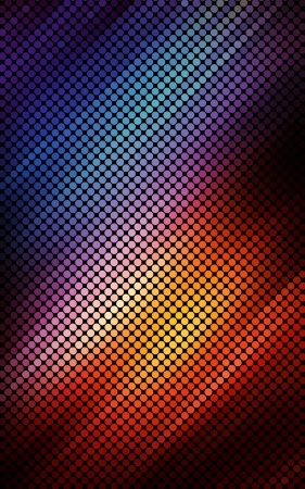 Multicolor abstract lights disco background.