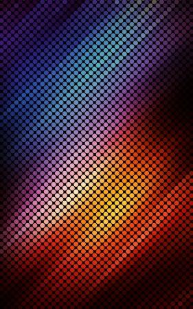 Multicolor luzes abstratas fundo do disco.