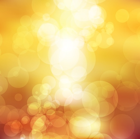 gold bokeh background abstract vector design Vector