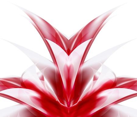 linhas vermelhas fundo abstrato