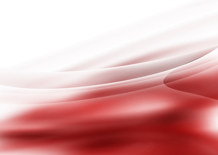 beautiful red white  lines  abstract background Vector