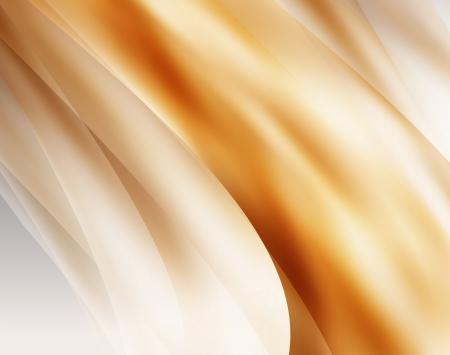 silk fabric: De oro tejido de seda de fondo abstracto