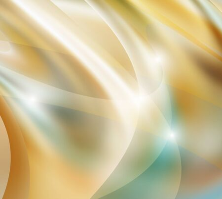gold  waves  lines  abstract  background vector eps Illustration