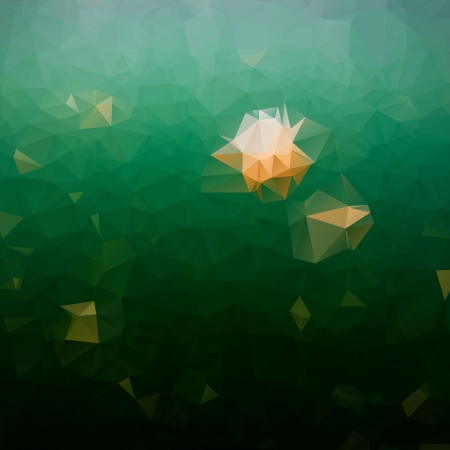 Vector geometric background with gradients