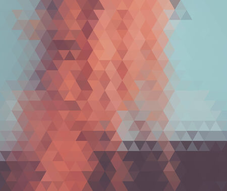 Geometric gradients with different colors pattern triangle  Vector