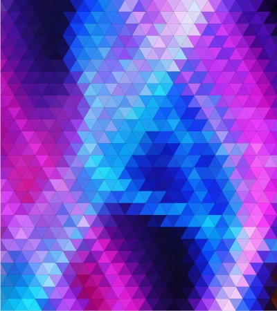 cold colours triangles vector geometric background with gradients  lines  different colors pattern eps 10 Vector
