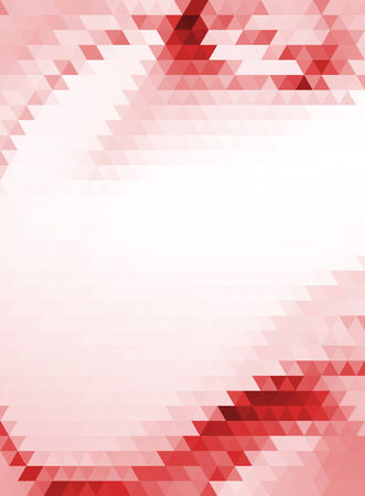 red white triangles vector geometric background with gradients  lines  different colors pattern eps 10 Vector