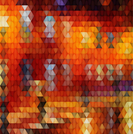 orange triangles vector geometric background with gradients  lines  different colors pattern eps 10