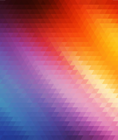 rainbow triangles vector geometric background with gradients  lines  different colors pattern eps 10 Vector